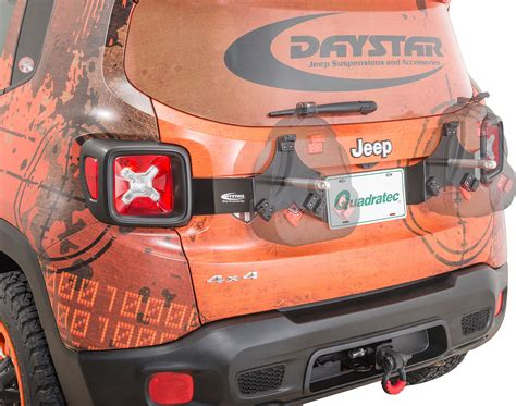 daystar kj50020bk can tailgate mount for 15 18 jeep