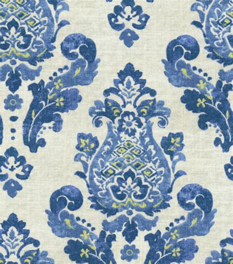 Blue Home Decor Fabric by Home Decor Print Fabric Waverly Charm Ceramic At