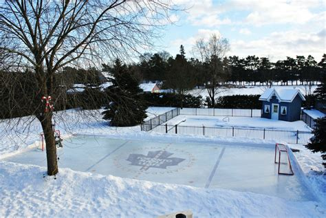 Rink Backyard by Maple Leafs Shrines Photos Toronto
