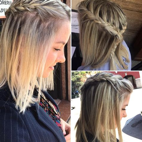 braided hairstyle ideas  balayage ombre hair