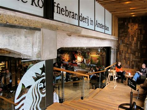 Starbucks Concept Store In Amsterdam by Starbucks Concept Store In Amsterdam Largest In Europe