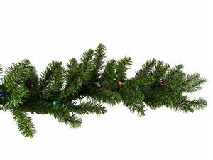 9 x 10 quot pre lit battery operated christmas garland multi led lights ebay