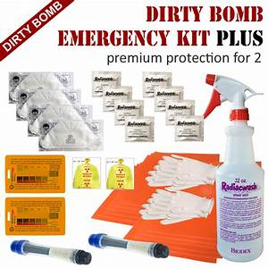 Dirty Bomb Emergency Kit for radiation protection