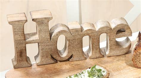 Bilder Holz Deko by Deko Holz Schriftzug Home Mangoholz Living Bilder