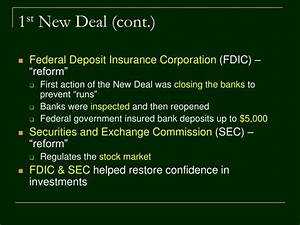 PPT - The New Deal PowerPoint Presentation - ID:3538083