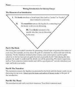 Literary Essay Template 11 Free Samples Examples
