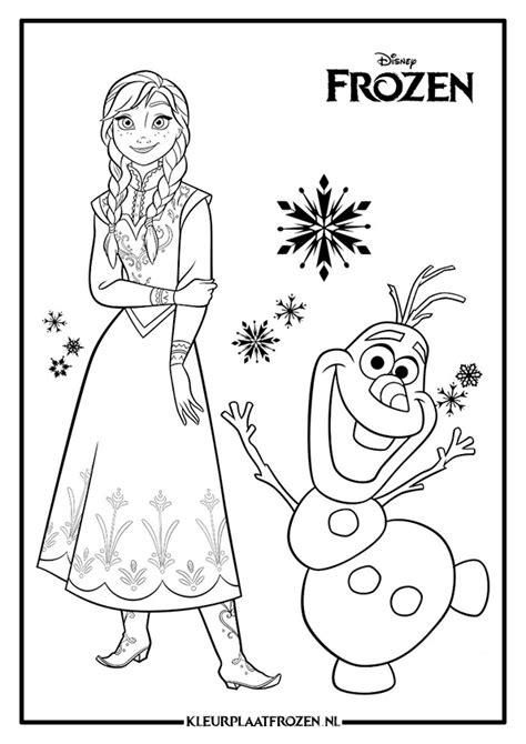 Kleurplaat Frozen by Olaf Frozen Kleurplaat Gratis Downloaden Kleurplaat Frozen