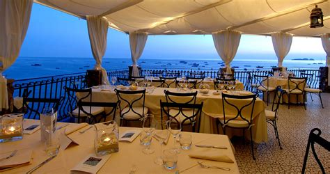 ristorante le terrazze terraces on the wedding in amalfi coast