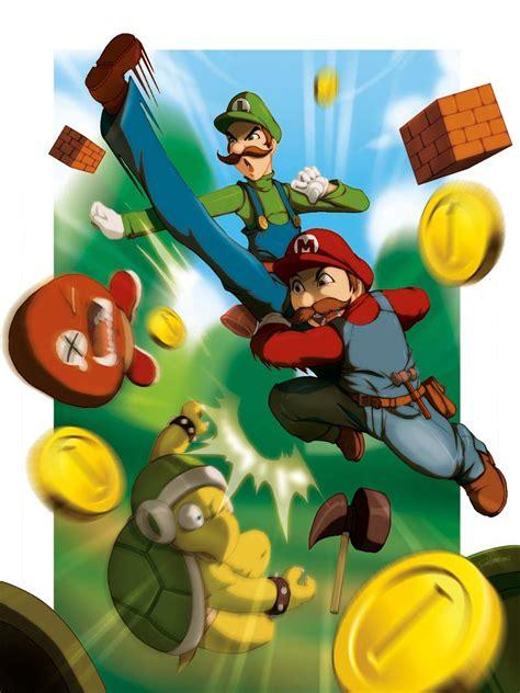 Super Mario Bros Fan Art By Tovio911