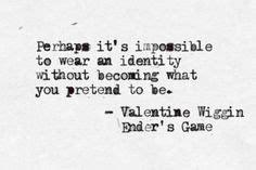 Ender S Game Valentine Wiggin Quotes