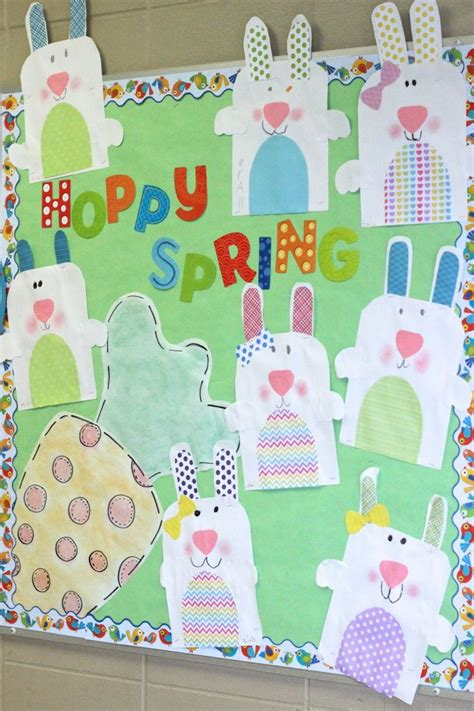 crafts actvities and worksheets for preschool toddler and 475 | easter bulletin board idea for kids 1