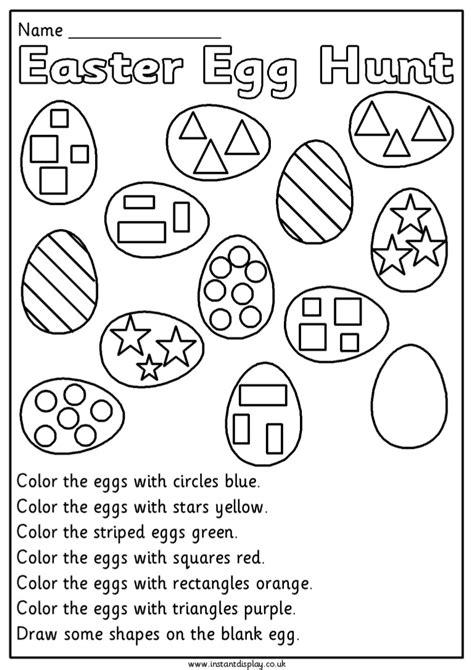 easter worksheets for second grade worksheets for all