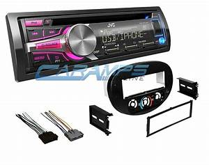 New Jvc Car Stereo Radio Cd Player Receiver W Mounting