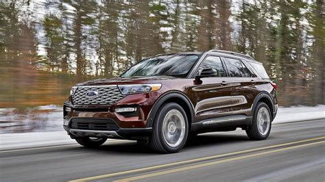 2020 ford explorer sports 2020 ford explorer revealed atop all new rwd based