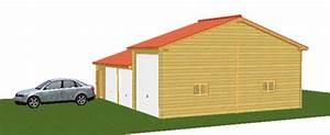 Garage Homologation 5 Places : double garage et garage camping car ~ Medecine-chirurgie-esthetiques.com Avis de Voitures