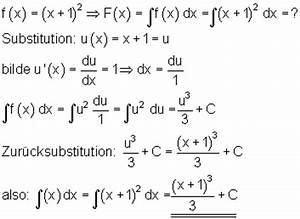 Integrale Berechnen Aufgaben : integration durch substitution mathe brinkmann ~ Themetempest.com Abrechnung