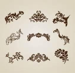 designer vintage vintage beautiful design elements vector set free vector graphics all free web resources for