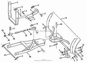 Simplicity 1600143 - 42 U0026quot  Dozer Blade Parts Diagram For Dozer Blade Group