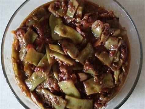 cuisine libanaise recette recette haricots plats coco à l huile d olive recette