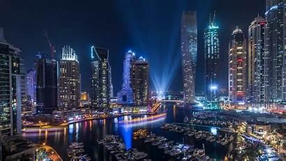 Dubai Night Marina Wallpapers 1080p Desktop Background