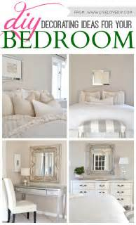 Room Decor Ideas Diy by Livelovediy Diy Decorating Ideas For Your Bedroom
