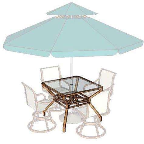 garden furniture set 03 3d model formfonts 3d models