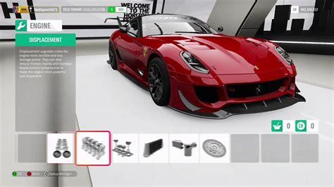 Sylegaming #forzahorizon4 #fastestcars fastest car ferrari 599xx evolution forza horizon 4 gameplay w/tunes top speed. Ferrari 599XX Evo 500kph tune FH4 - YouTube