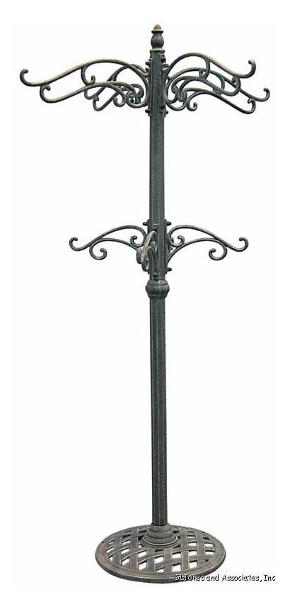 Plant Outdoor Garden Hanging Stand Iron Stands