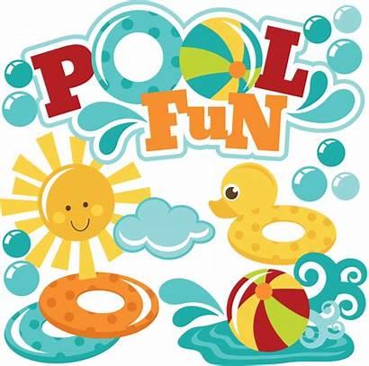 Pool Fun Clipart Beach Swimming Svg Ball