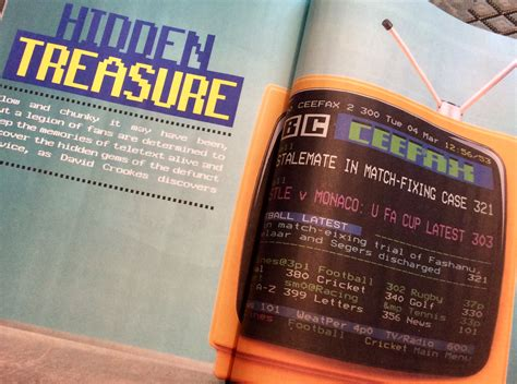 teletext archaeology feature in november s computer shopper magazine out now teletext