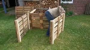Komposter Holz Selber Bauen : komposter aus europaletten selber bauen garten kompost pinterest ~ Frokenaadalensverden.com Haus und Dekorationen