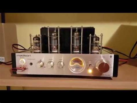 Madison Mad Tabt Stereo Hybrid Tube Amplifier Unboxing