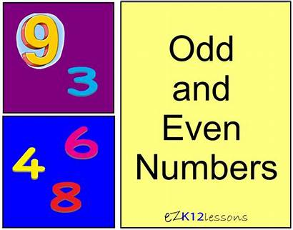 Odd Even Number Numbers Parity Functions Clip