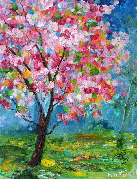 tarlton original paintings bees and tree by tarlton
