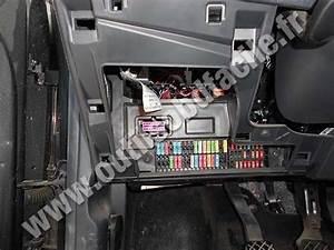 Obd2 Connector Location In Seat Ibiza  2002-2008