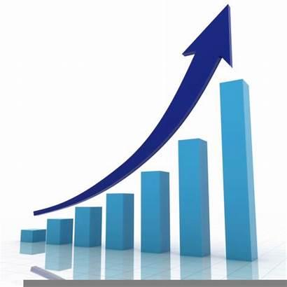 Sales Business Bar Growth Clipart Raising Profits
