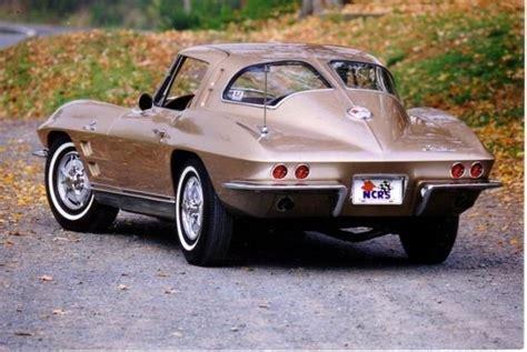 corvette split window coupe corvette chevrolet