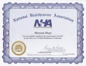 Certified Medical Assistant Certificate