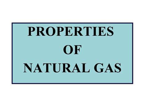 Физические свойства газов термины определения и параметры