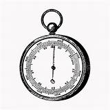 Barometer Aneroid sketch template
