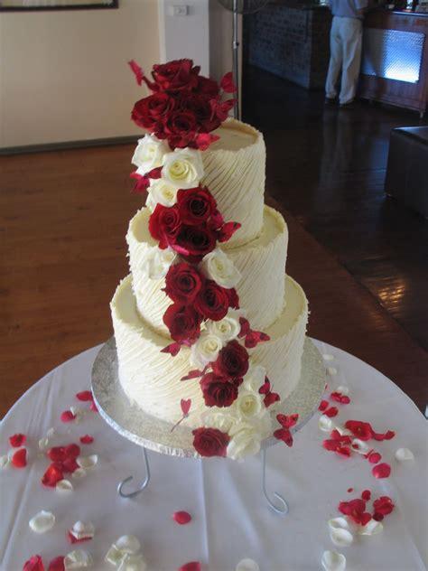 tier white chocolate spanish textured ganache wedding