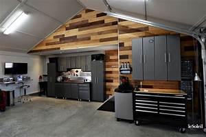 Aménagement D Un Garage En Studio : idee amenagement garage ide amnagement arriere cuisine ~ Premium-room.com Idées de Décoration