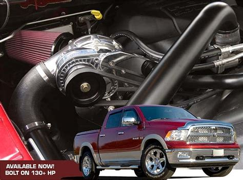 Dodge 4 7 Supercharger by 130 Hp Gain For Your Hemi