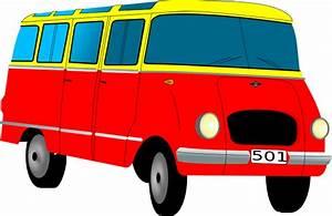 Van Microbus Clip Art at Clker.com - vector clip art ...