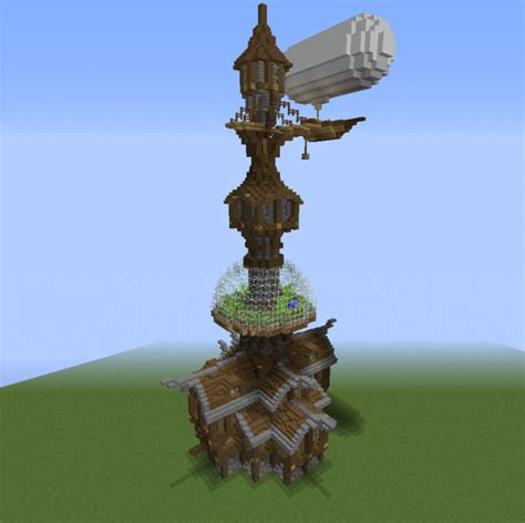 Wizard Tower and Airship 2 - GrabCraft - Your number one