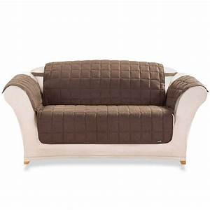 white loveseat slipcover design with dark brown sofa With furniture slipcovers for loveseats