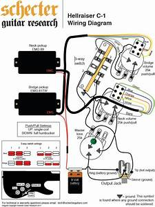 Electric Guitar Wiring Diagram For Schecter