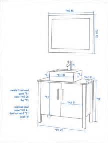 Bathtub Faucet Height Standard by Bathroom Fixtures Standard Bathroom Vessel Sink Height