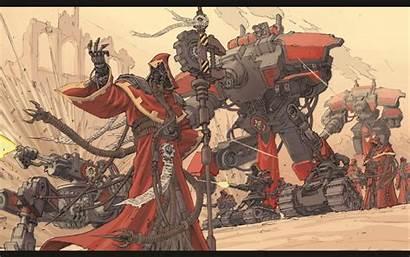 Mechanicus Adeptus 40k Warhammer Background Code Hipwallpaper