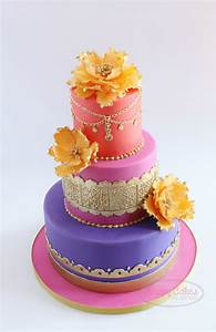 Moroccan Themed (Baby Shower) Cake - CakeCentral com